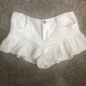 Never worn shorts from LF
